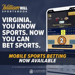 William Hill US Launch Mobile And Online Sports Betting In Virginia