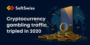 Cryptocurrency Gaming Sees Three-Fold Rise According To SoftSwiss