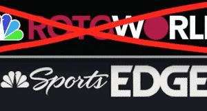 Rotoworld Rebrands As NBC Sports Edge