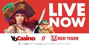 Red Tiger Extends European Footprint Launching With YoCasino