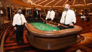 Las Vegas Casino Workers Two Weeks Away From Covid Vaccination