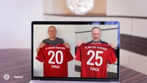 Tipico Renews FC Bayern Munich Sponsorship