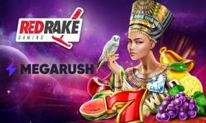 MegaRush Casino Sign Red Rake Gaming Distribution Deal
