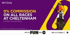 Betdaq Announce Commission-Free Bids For Cheltenham