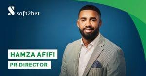 Hamza Afifi Joins Soft2Bet As PR Director