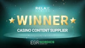 Relax Gaming Named 'Casino Content Supplier' At EGR Nordic Awards