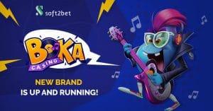 Soft2Bet Launch Boka Online Casino