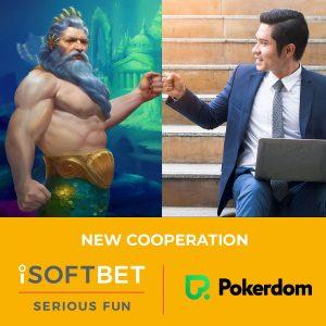 Pokerdom and Joker Online Casinos To Gain iSoftBet Content