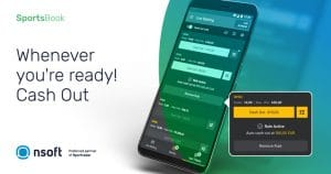 NSoft Players Using In-Play Sportsbook Can Now Access Cash-Out
