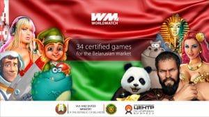 WorldMatch Introduce 34 Slots In Belarus