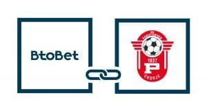 BtoBet Signs First Football Sponsorship Deal With FK Rabotnicki