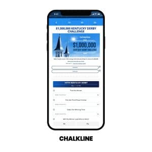 Chalkline and Twinspires Team Up $1m Kentucky Derby Freeplay Challenge
