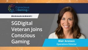 Blair Aronson Appointed As Ops Director Of Conscious Gaming