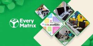 EveryMatrix Open Two New Romanian Hubs Under Kids Academy Initiative