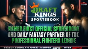 DraftKings Named Official Sportsbook And Daily Fantasy Partner Of PFL