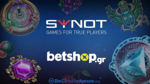 Synot Games Expands Greek Presence With  Betshop.gr Partnership