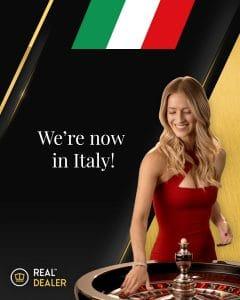 Real Dealer Studios Gains Certification For Italian Debut