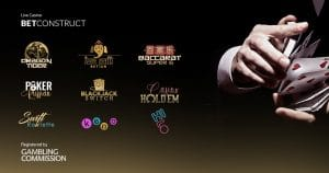 Nine New BetConstuct Live Casino Games Granted UKGC Approval