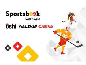 SoftSwiss To Provide Oshi and Arlekincasino With Sportsbook