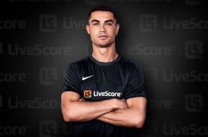 Cristiano Ronaldo Becomes LiveScore Global Brand Ambassador