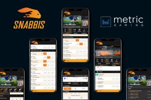 Metric Gaming Powers Snabbis.com's Sportsbook Launch