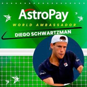 AstroPay Adds Diego Schwartzman To Global Ambassador Roster