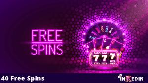 40 free spins no deposit