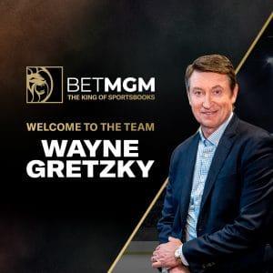 BetMGM Signs Former NHL Superstar Wayne Gretzky As Brand Ambassador