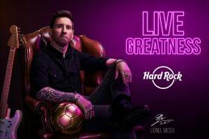 Lionel Messi Signs Global Brand Ambassador Deal With Hard Rock Intl