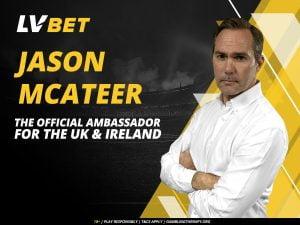 Jason McAteer Joins LV Bet As Brand Ambassador