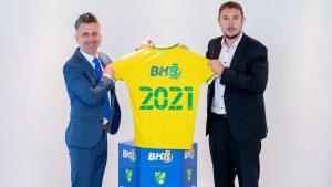 Norwich City Names Bk8 As Major Sponsor
