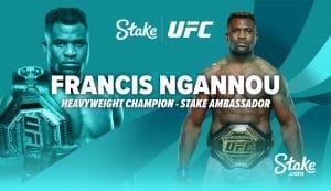 Stake Name Francis Ngannou As Brand Ambassador