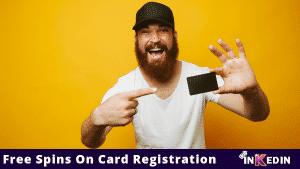 free spins on card registration