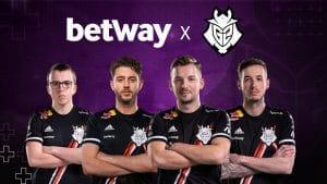 Betway Inks 'Landmark Partnership' With G2 Esports