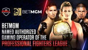 PFL Designates BetMGM As US Authorised Gaming Operator
