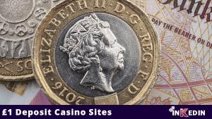 £1 deposit casino sites
