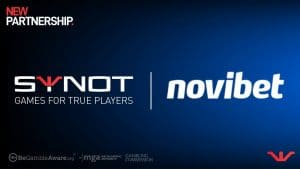 Synot Games Signs Distribution Deal With Novibet
