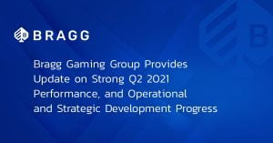 Bragg Gaming's Revenue Update Reports Consistent Progress On Growth