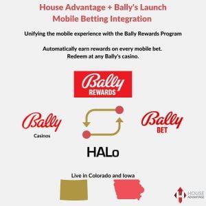 House Advantage & Bally's Launch Loyalty Programme