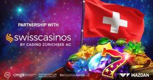 Wazdan Teams With Swiss Casino For Swiss Launch