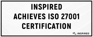 Inspired Entertainment Gain ISO 27001 Certification