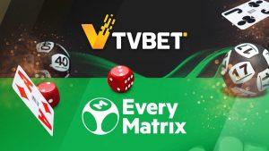 EveryMatrix And TVBET Sign Casino Aggregation Deal