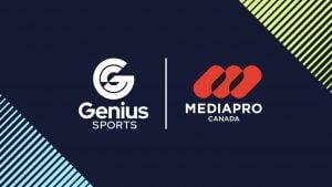 Genius Sports Signs Strategic Partnership With MEDIAPRO Canada