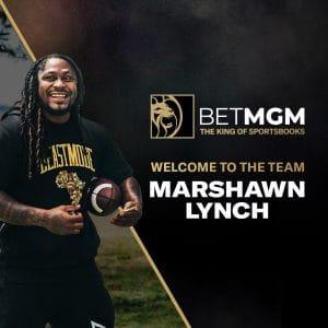 BetMGM Signs Marshawn Lynch As Brand Ambassador