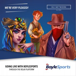 1X2 Network Signs Content Deal With BoyleSports