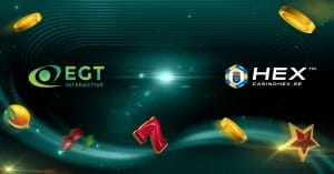 CasinoHEX Partners With EGT Interactive