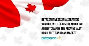 Betsson AB Invests In Canadian Start-Up Slapshot Media