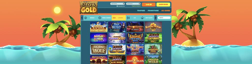 Slot Gold Casino Games