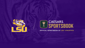 LSU Athletics Signs Multi-Year Gaming & Sportsbook Deal With Caesars