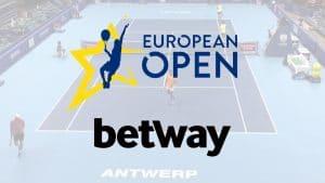 Betway Strengthens Tennis Market Position With European Tour Sponsorship